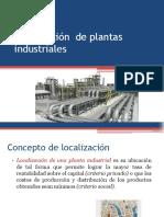 Localización y Tamaño de Plantas Industriales Estudiar