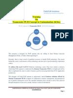 Teamcenter PLM Concept Customization Training FaithPLM
