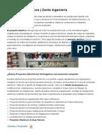 Proyectos Electricos _ Zenta Ingenieria