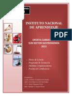 Oferta Gastronomia 2013