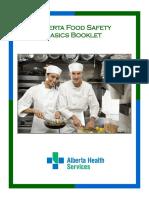 Food Safety Basics Booklet