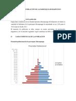 Informe de Población de La Parroquia Moraspungo