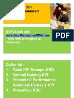 Template - Tabel KPI dan BSC.pdf