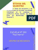 ENCUENTRO INSP. ED. COMÚN ESTE