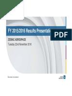 161122 - En - Zodiac Aerospace Fy 15-16 Results - Projection
