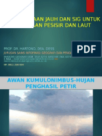 Materi Kuliah Inderaja & SIG Pesisir dan Kelautan (Prof Hartono)