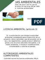 LICENCIAS AMBIENTALES