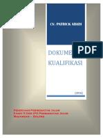 Dok. Kualifikasi CV. Patrick Abadi