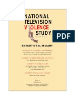 National Television Violence Study Execu1