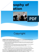 Philosophy of Education PPT