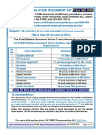 Readymade documentation kit for Quality Management System - AS9100 rev D certification