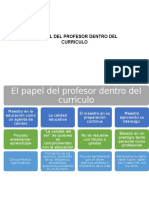 El Papel Del Profesor Dentro Del Curriculo Arnul