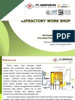 Refractory Boiler Work Shop PLN