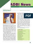 ADBI News