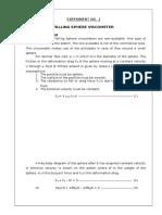 Fluids Lab Report 1