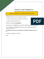 Informe de La Circunferencia