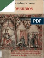 l. Alonso Schokel - j. Vilchez. Proverbios. Ediciones Cristiandad