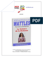 La Science de La Richesse - Wallace D. Wattles