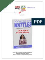 La Science de La Richesse - Wallace D. Wattles