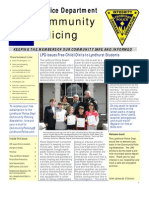 Lyndhurst PD Summer Newsletter 2010