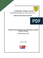 Panduan Perlaksanaan & Penulisan Laporan Projek Pelajar (Edisi3)