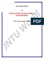 Utilization of Electrical