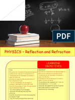 Physics 18 - Reflection and Refraction