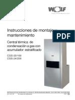 Susana Wolf InstruccionesCalderas Cgs