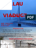 Millau Viaduct long span bridge
