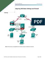 9.3.1.2 Lab - Configure ASA Basic Settings and Firewall Using CLI.pdf