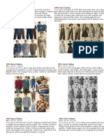 1950 Boys Clothes