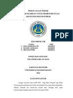 makalah perencanaan publik