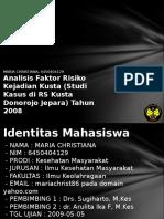 Analisis Faktor Risiko Kejadia 6450404129