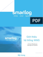 WMS Solution Presentation 2016