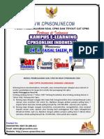 11.04 Soal Cpns Daerah 04 - Tryout Ke-10 Cpnsonline.com