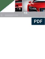 Audi r8 Brochure Duits