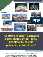 Centrum Wiedzy w Bolesławcu