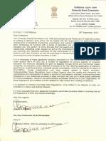 1922068 UGC Letter Regarding Regulations