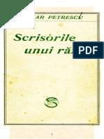 Cezar Petrescu - Scrisorile Unui Razes