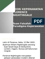 3. Teori Keperawatan Florence Nightingale