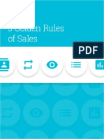 5 Golden Rules of Sales