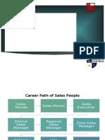 Career Path of Sales People