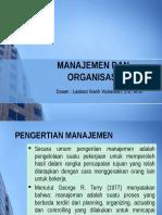 PBM 5. Manajemen&Organisasi