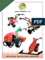 Agrimac Motocultor Diesel Catalogo Agria Hispania