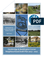 The Hackbridge and Beddington Corner Neighbourhood Development Plan (Final draft)