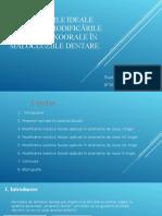 Proporțiile Ideale Faciale Și Modificările Estetice Exoorale În Malocluziile Dentare