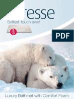 MD-EnTREE Caresse Brochure Badmat
