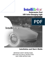 Pentair Intellibrite 5g Color Led Pool Installation Manual