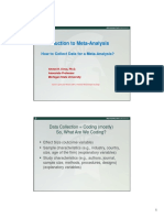 3Collecting Data for a Meta-Analysis