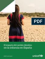 El impacto del cambio climático en la infancia en España
